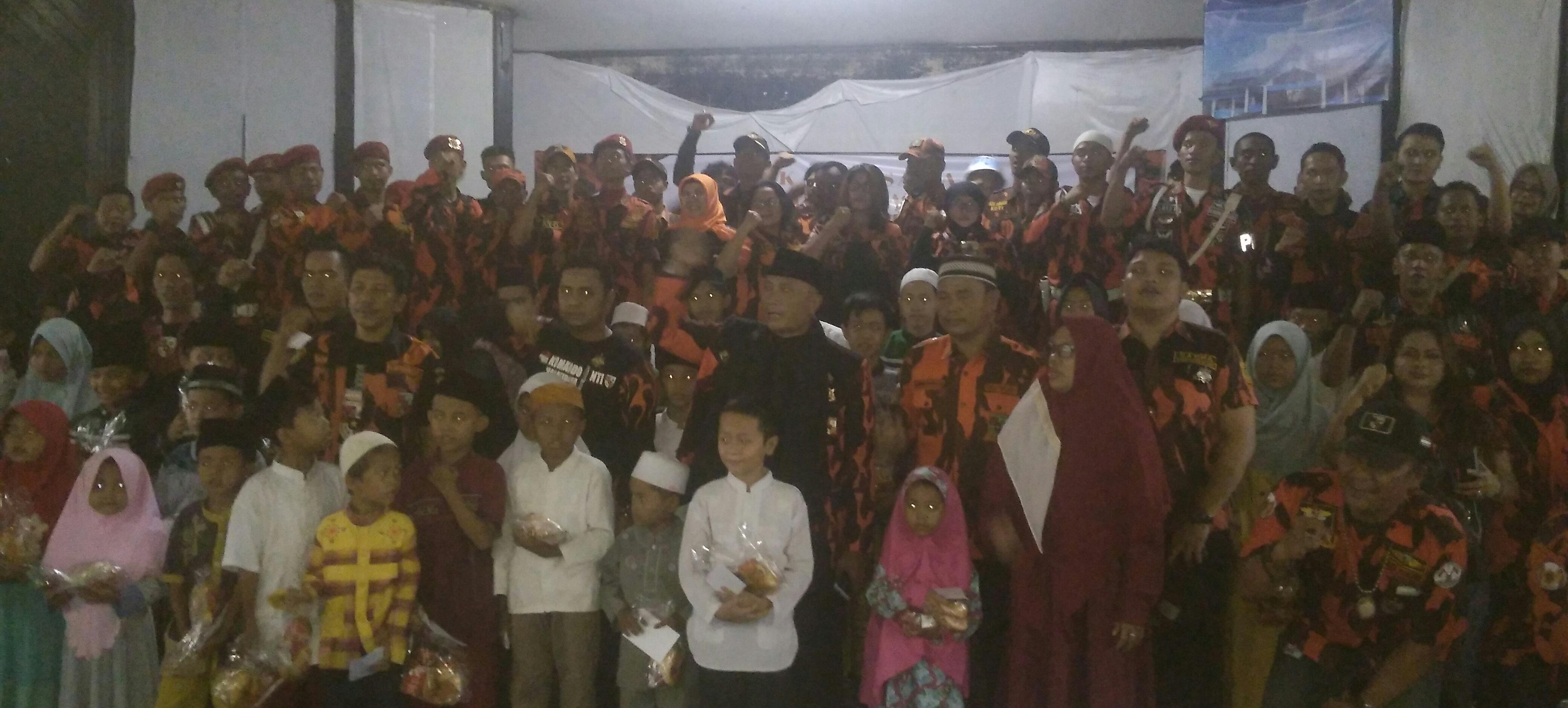 Berbagi Dibulan Puasa 2016 PP Kabupaten Bogor, Berikan Santunan
