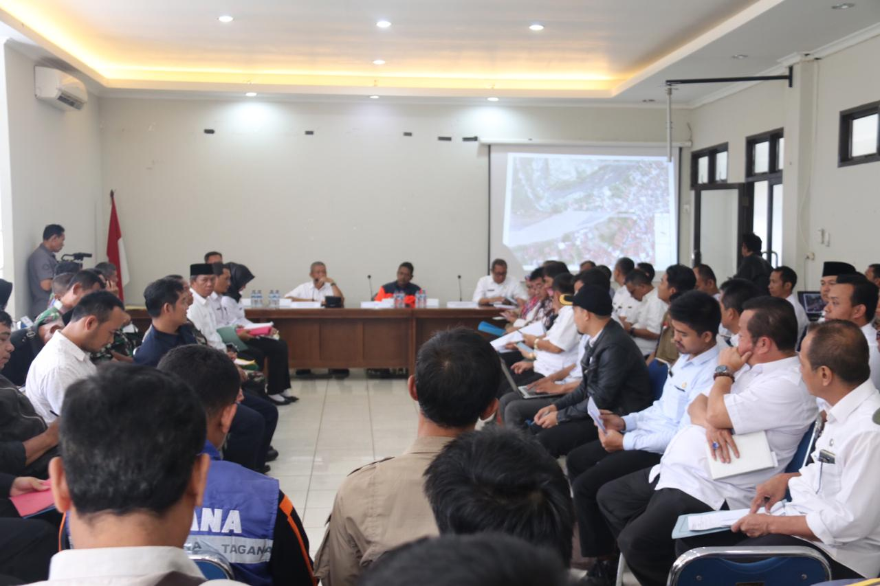Tanggap Bencana Kab Bogor diperpanjang 14 Hari
